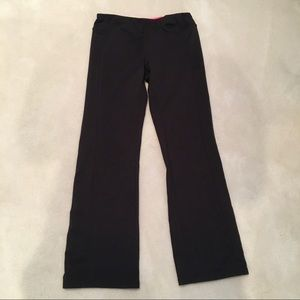 Layer 8 Fleece Lined Black Performance Pant Active